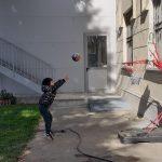primi tiri a Basket