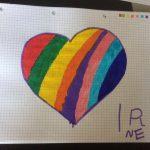 cuore arcobaleno
